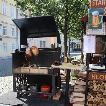 vendor on street