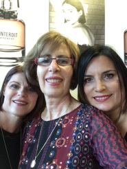 with Linda and Connie
